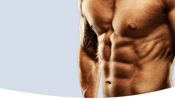 six pack abs banner