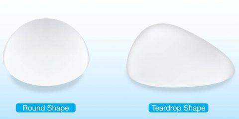 Breast-implant-shape